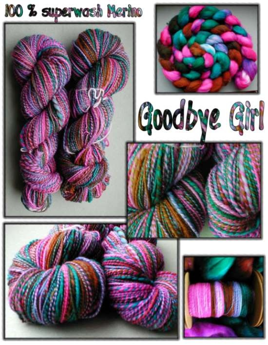 Goodbye girl - superwash Merino