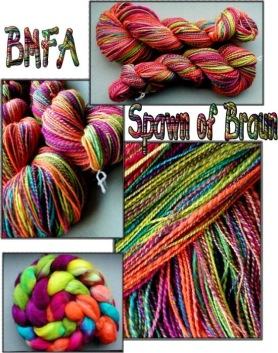 BMFA Spawn of Braun handspun