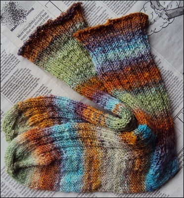 dkKnits °Tropical Holiday Socks°