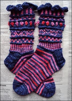 Sauvie Island Socks °Falling in Love°