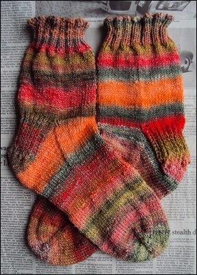 Guppy Socks handspun