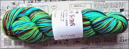 Knitterly Things -Versper Sock Yarn - Muddy Water