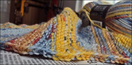 Vier Einsamkeiten Schal