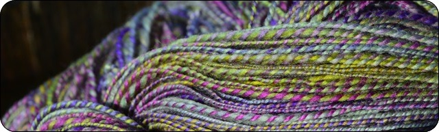 Spot Rock One handspun..