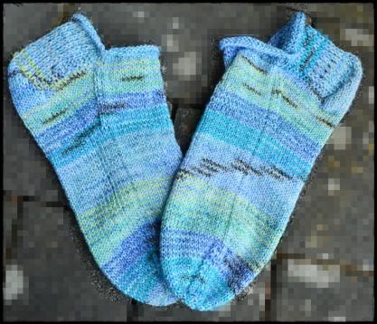 cotton sneaker blau a