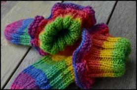 opal over the rainbow baby socks a