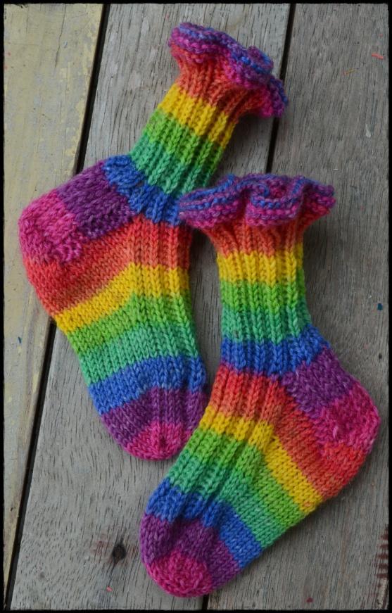 opal over the rainbow baby socks d
